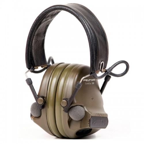 Активные наушники 3M Peltor Comtac XP с цифровым усилением и обработкой сигнала (Olive)