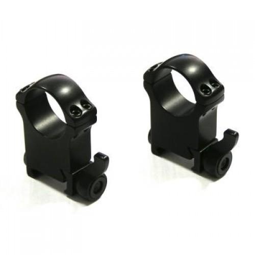 Быстросъемные кольца Recknagel на weaver BH 22,0mm на кольца D30mm (высокие)