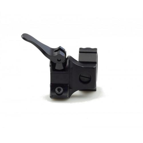 Быстросъемные раздельные кольца Apel EAW на Blaser 30 мм