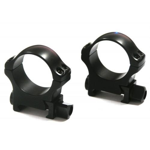 Быстросъемные кольца Recknagel на Weaver, 30 мм, средние