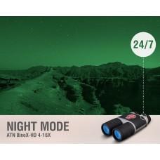 Цифровой бинокль ATN Binox-HD 4-16X