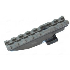 Кронштейн Кочевник-1 с планкой Picatinny для установки на место целика оружия на базе АК