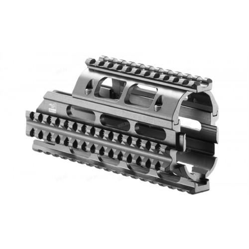 Алюминиевая рельсовая система Picatinny (цевьё) FAB-Defense для РПК/Вепрь