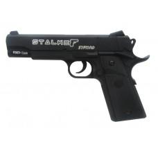 Пневматический пистолет Stalker S1911RD