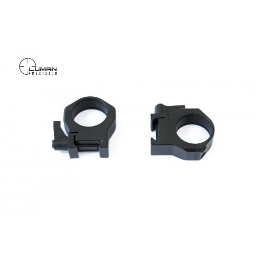 Быстросъемные кольца Luman Precision на Weaver 26 мм (средние)