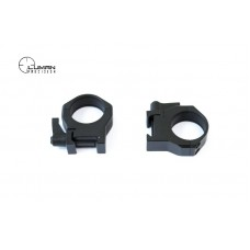 Быстросъемные кольца Luman Precision на Weaver 30 мм (высокие)