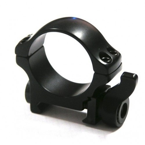 Быстросъемные кольца Recknagel на weaver BH 6,0mm на кольца D30mm низкие (на рычаге)