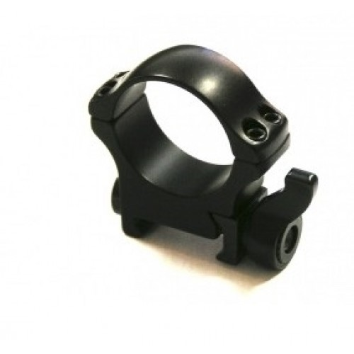 Быстросъемные кольца Recknagel на Weaver BH 22mm на кольца D34mm на рычаге (высокие)