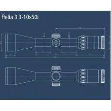 Оптический прицел Kahles Helia 3 3-10x50i (G4-B)