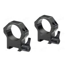 Быстросъемные стальные кольца Contessa на базу Picatinny, 30 мм, BH=12 мм