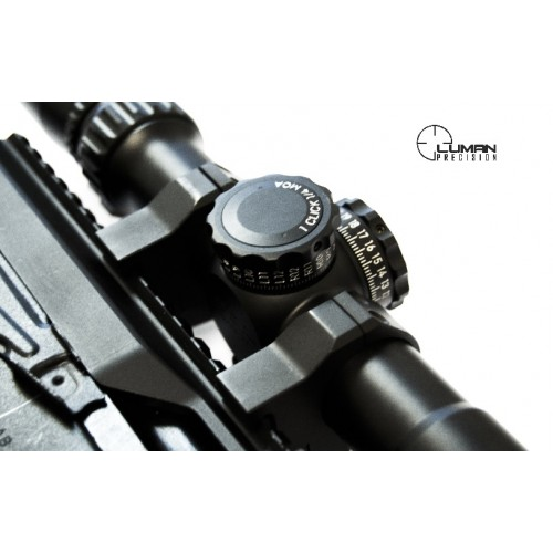 Быстросъемные кольца Luman Precision на Weaver 26 мм (низкие)