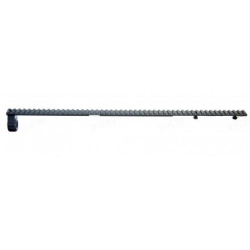 База МАК Weaver/Picatinny (сталь) для установки на единые основания МАК, длинна 500 мм, E=85 мм