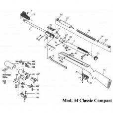Винтовка Diana 34 Classic Compact, кал. 4,5