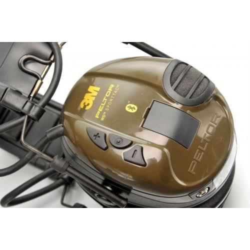 Активные наушники Peltor Sport-Tac с поддержкой Bluetooth