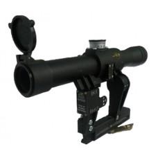 Оптический прицел ПОСП 4х24В (1,5/1000 Вепрь/Сайга)
