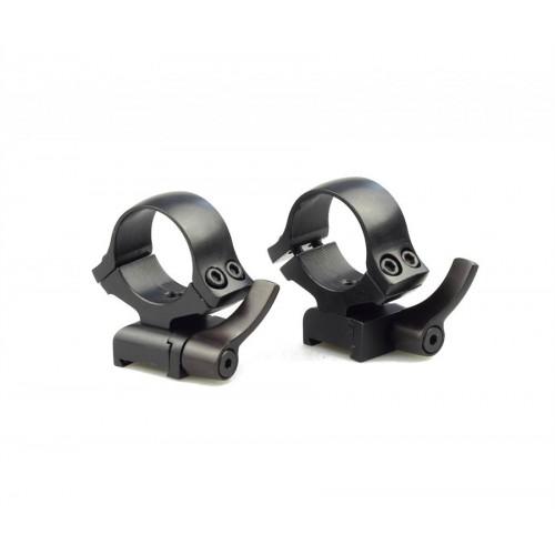 Быстросъемные кольца раздельные Kozap CZ527 Alfa на 30 мм (No.64) BH19.8
