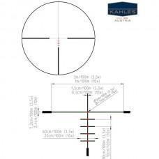 Оптический прицел Kahles Helia 3 3-9x42 (4D)