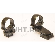 Быстросъемный поворотный кронштейн Henneberger, Sabatti Rover, кольца 26 мм, BH=17 мм, KR=29 мм