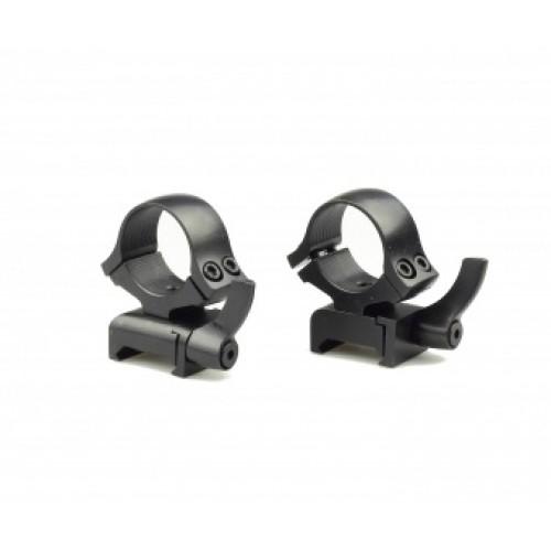 Быстросъемные кольца раздельные Kozap Weaver Alfa D26 мм (No.66) BH=19,8