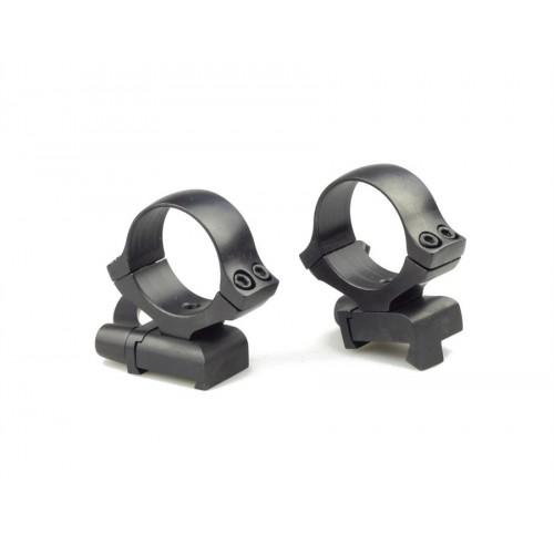 Быстросъемные кольца раздельные Kozap CZ550 Alfa на 30 мм (No.61) BH19.8