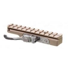 Единое быстросъемное основание Contessa на призму 12 мм с базой Picatinny, никель
