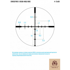 Оптический прицел Vortex Crossfire II AO 4-12х50