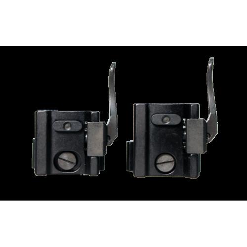 Быстросъемные раздельные кольца Apel EAW на Weaver 30 мм (низкие)