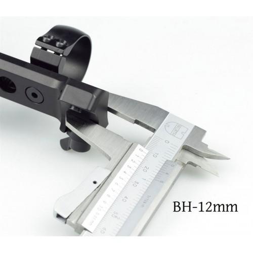 Быстросъемный кронштейн MAK Blaser на кольца 30мм с запирающим устройством MAK-Klapphebel