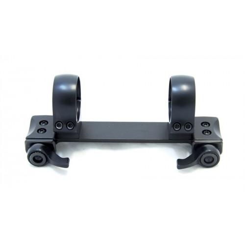 Быстросъемный кронштейн Recknagel на едином основании кольца 30 мм на Weaver 10 мм