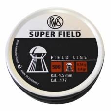 Пульки RWS Superfield 4,5 мм 0,54 г.