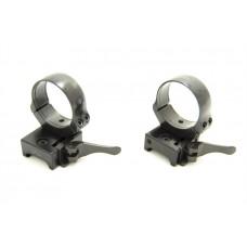 Быстросъемные раздельные кольца Apel EAW на Weaver 36 мм (средние)