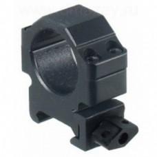 Кольца Leapers быстросъемные 26 мм на Weaver, с винтовым зажимом (низкие)