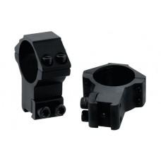Кольца Leapers 30 мм на планку 10-12 мм высокие (два винта)