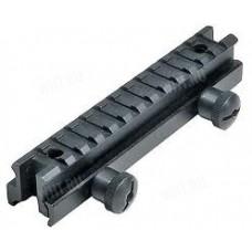 Единая база Picatinny Leapers на AR-15 / M-16 или любую единую базу / разд. базы Picatinny/Weaver