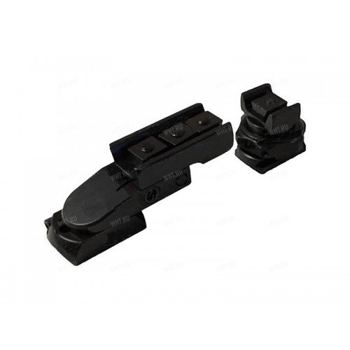 Быстросъемный поворотный кронштейн MAK, Browning BAR/Benelli Argo, шина SR, BH=17 мм, KR=34 мм