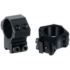 Кольца Leapers 30 мм на планку 10-12 мм средние (два винта)