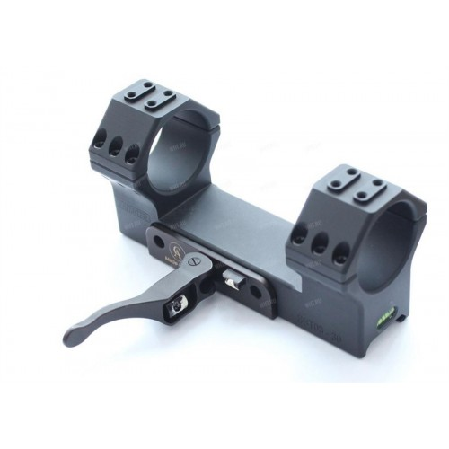 Быстросъемный моноблок Contessa Tactical, кольца 34 мм, BH = 15 мм, на Picatinny, 0 MOA