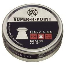 Пульки RWS Super-H-Point 4,5 мм 0,45 г.