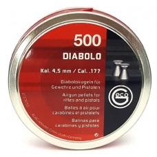 Пульки Geco Diablo 4,5 мм (500 шт./бан.)