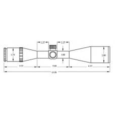 Оптический прицел BSA Panther 3-10x40