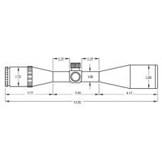 Оптический прицел BSA Panther 6.5-20X44