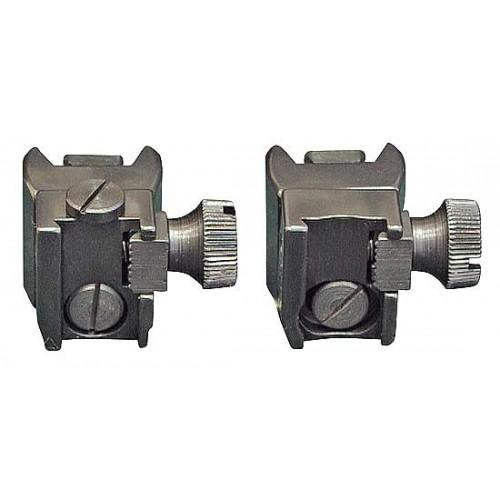 Быстросъемные раздельные стойки EAW на Sako 75/85, для прицелов с шиной SR, BH 20 мм