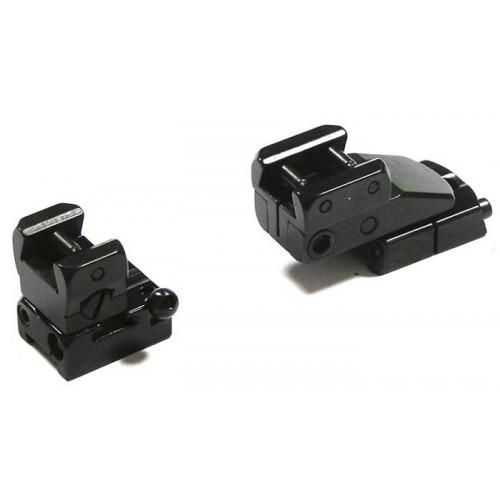Быстросъемный поворотный кронштейн Apel EAW на Remington 700, Sauer 101 на LM-призму, вынос 45 мм