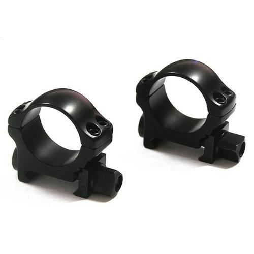 Быстросъемные кольца Recknagel на weaver BH 5,0mm на кольца D26mm (низкие)
