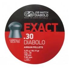 Пульки JSB Diabolo Exact кал.7,62 мм 3,25 г.