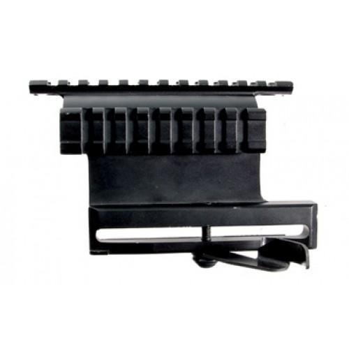 Боковой кронштейн быстросъемный Leapers на Weaver с 2-мя планками (Тигр/Вепрь/Сайга)