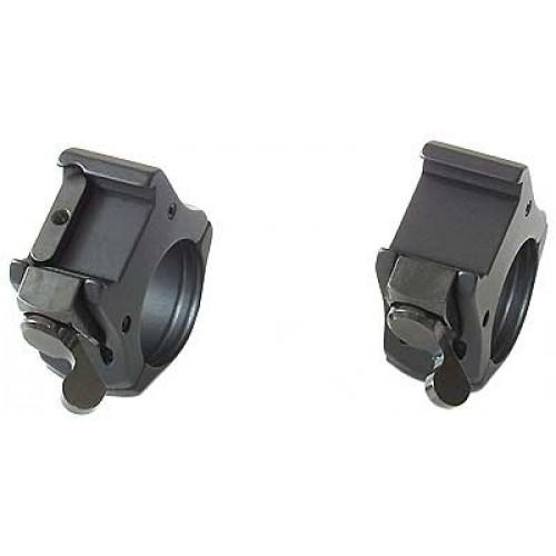 Быстросъемные кольца MAK 34 мм на Weaver, низкие