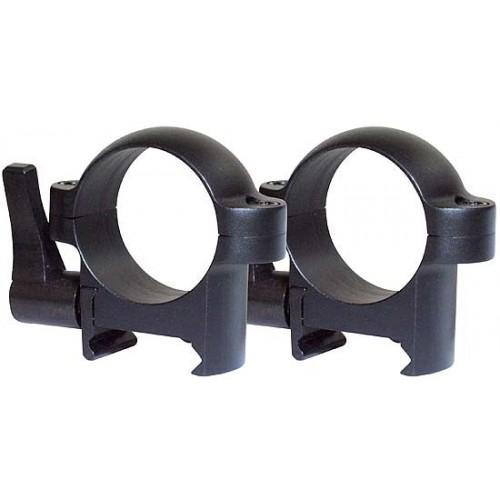 Быстросъемные кольца Burris Zee quick на 26 мм (раздельные) на Weaver низкие