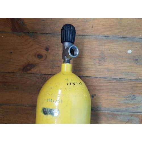 Баллон стальной R-EXTRA 6,8л  (Вентиль VTI со встроенным манометром)