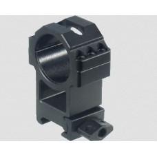 Кольца Leapers UTG 30 мм быстросъемные на Weaver с винтовым зажимом, высокие 2 винта